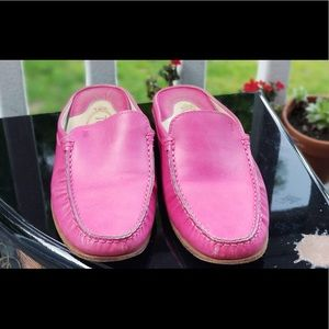 Tod's Pink Mules size 37